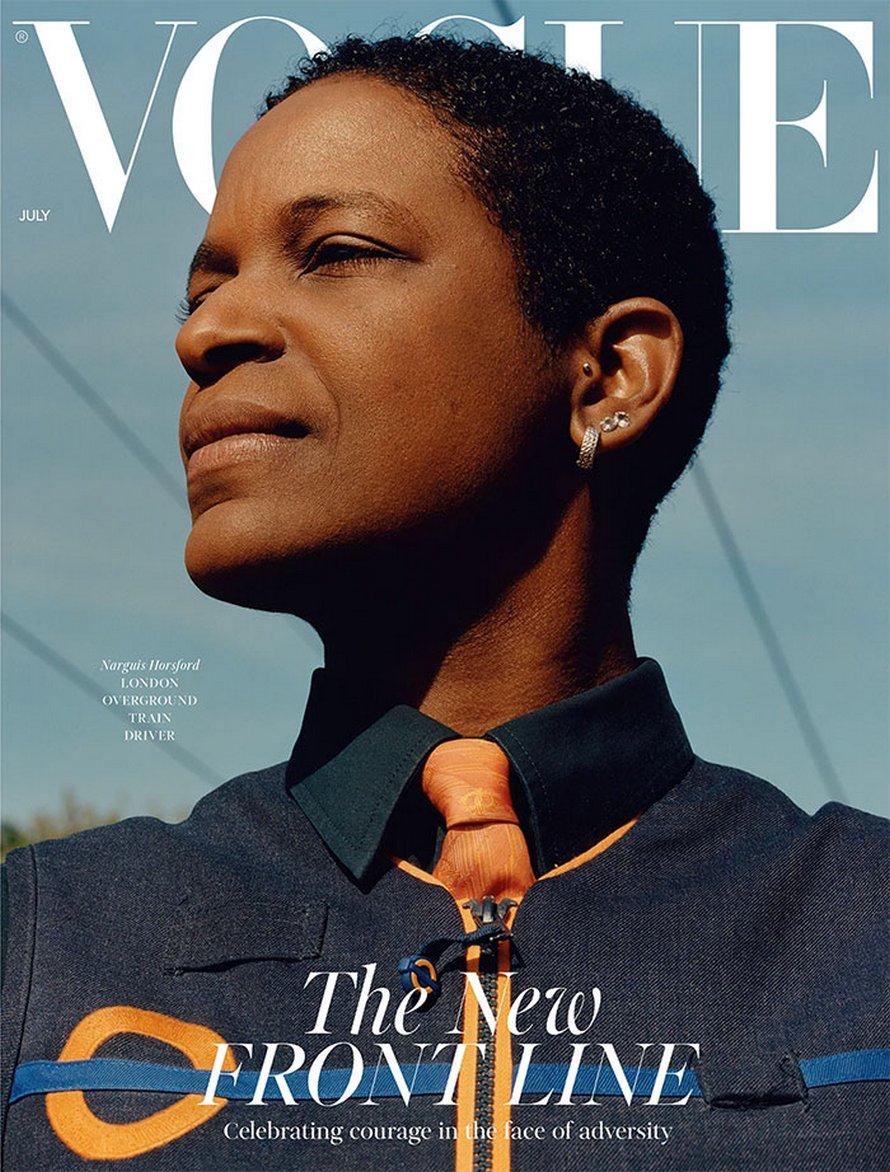 La nouvelle couverture de Vogue présente des travailleuses essentielles plutôt que des modèles pour souligner leur importance