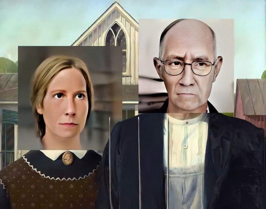 Un artiste utilise des réseaux de neurones pour générer des visages réalistes de personnes à partir de 7 tableaux célèbres
