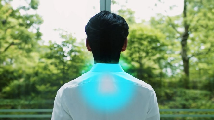 Sony lance un climatiseur de poche qui s'insère dans un col de t-shirt