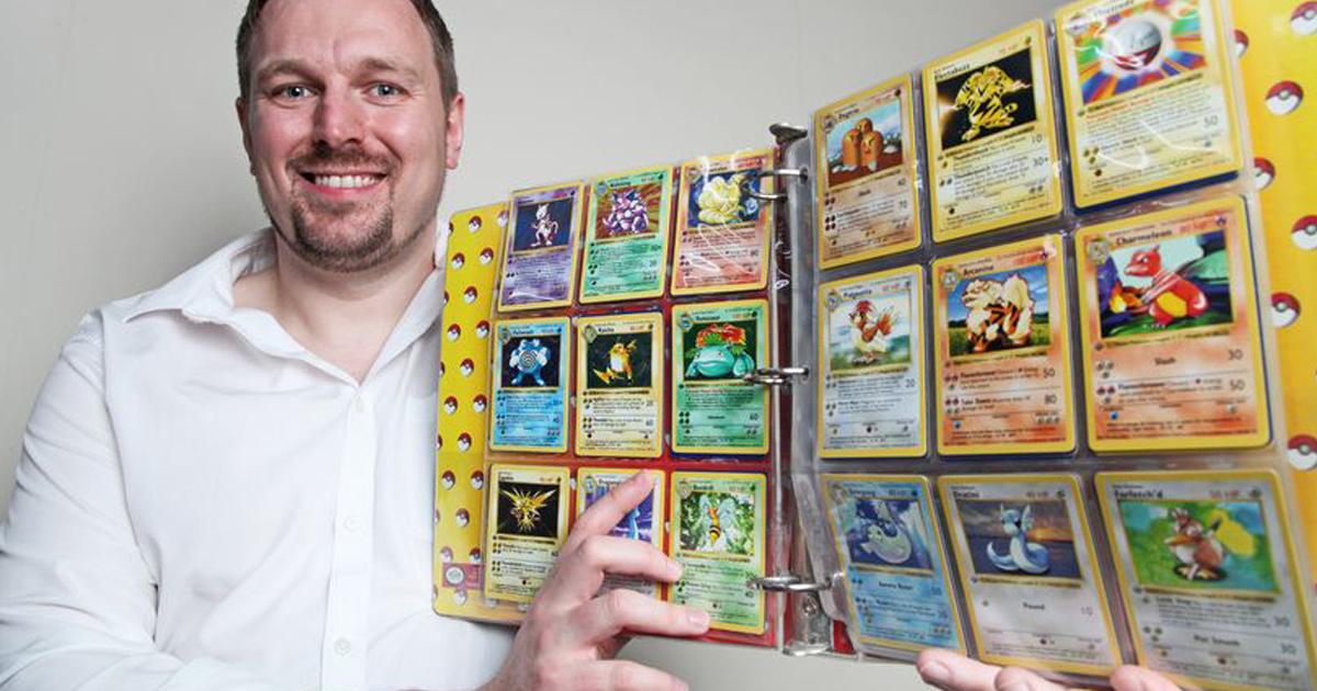 Un papa découvre que les cartes Pokémon qu'on lui a données il y a 20 ans valent 39000€