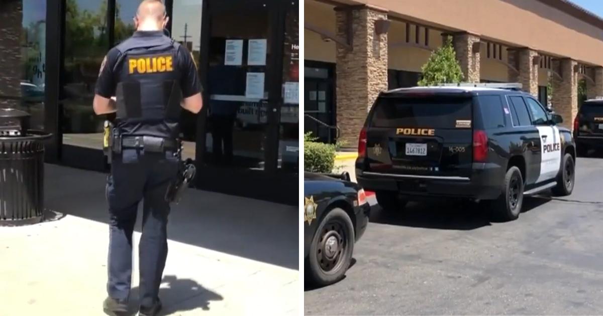 Une femme urine sur le sol d'un magasin Verizon à Roseville après avoir refusé de porter un masque