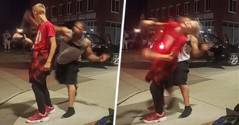 Un homme qui a frappé un garçon de 12 ans qui dansait a été accusé d'agression