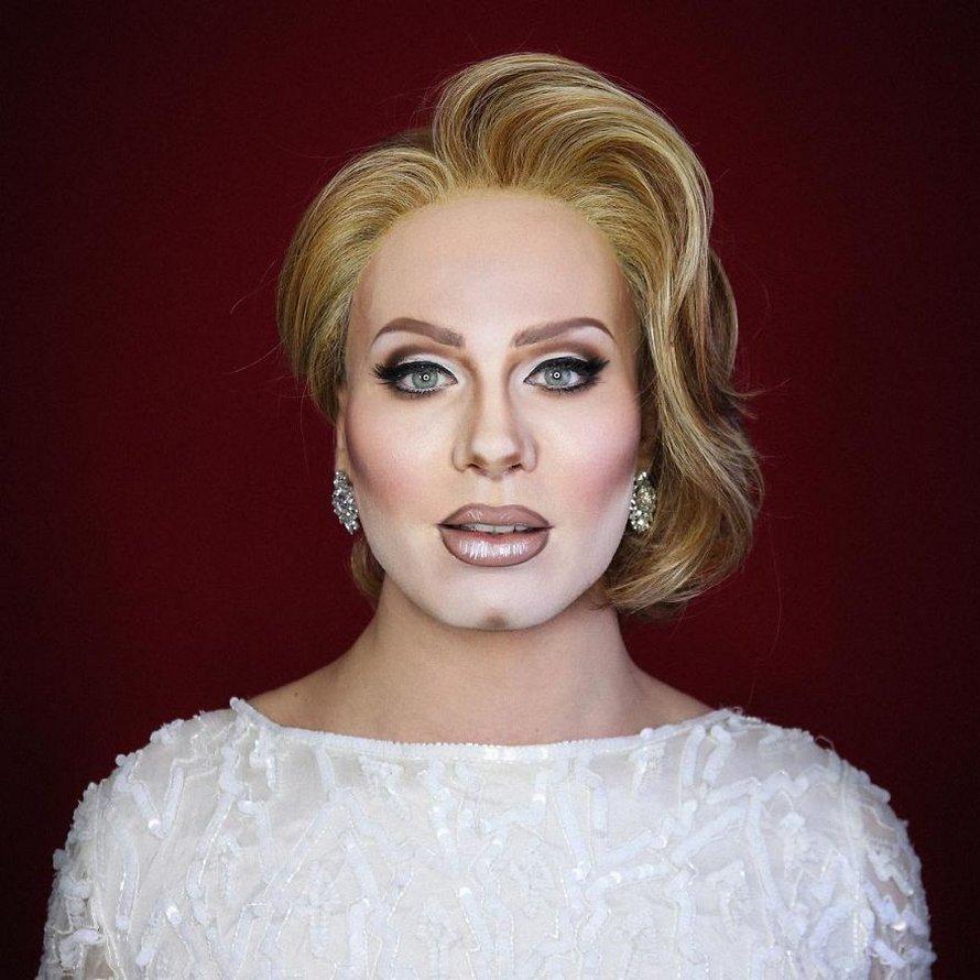 Cette drag queen est si douée en maquillage qu'elle peut ressembler à n'importe quelle célébrité et voici ses 10 meilleures transformations