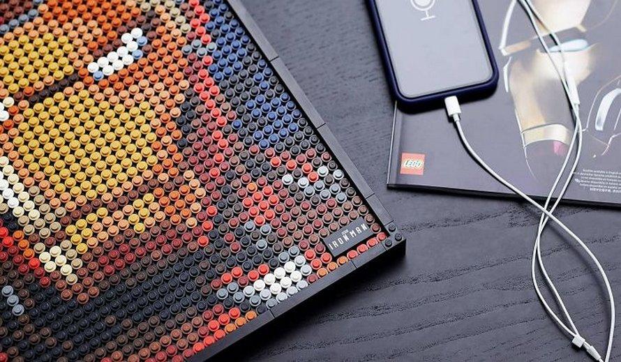LEGO lance des affiches à assembler avec leur propre bande-son