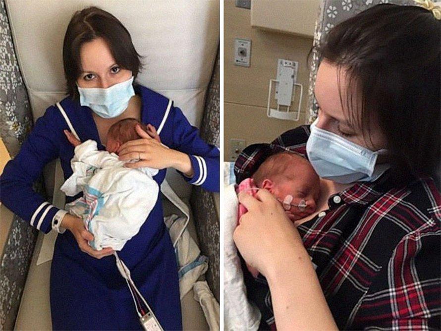 Des mères qui ont accouché avec un masque répondent à ceux qui refusent d'en porter un pendant 5 minutes