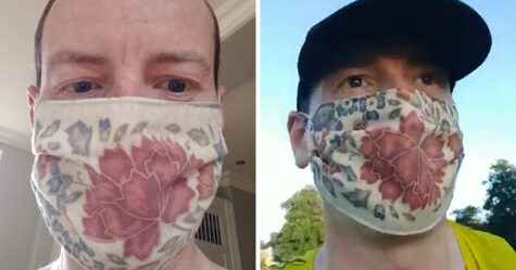 Un médecin court 35 kilomètres avec un masque pour prouver qu'ils ne diminuent pas le taux d'oxygène
