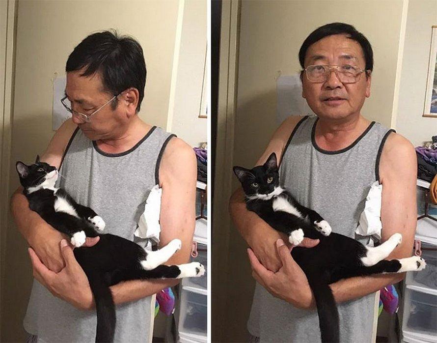 Ces pères ne voulaient pas d'animaux de compagnie dans leur vie