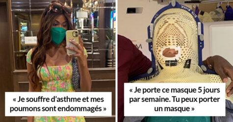 Des gens font honte à ceux qui refusent de porter un masque pour des raisons stupides