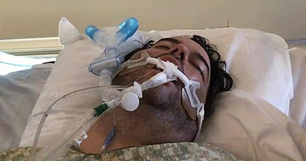 Un père atteint de Covid-19 lutte contre la mort après que son fils soit sorti avec des amis sans masque
