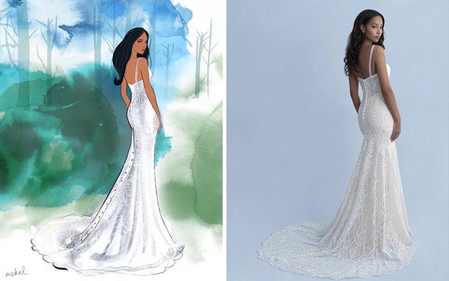 Disney lance 16 robes de mariée inspirées des princesses préférées de tout le monde