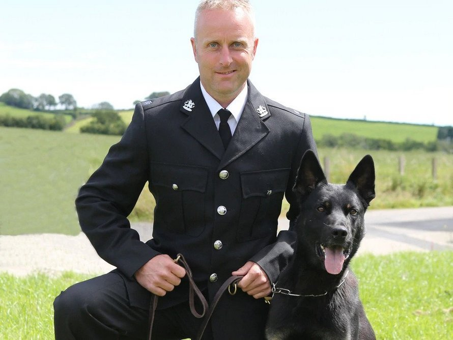 Un chien policier retrouve une mère et son bébé disparus lors de son premier jour de travail