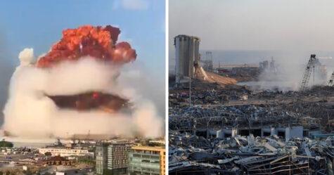 Au moins 100 personnes sont mortes dans l'explosion à Beyrouth qui a détruit des bâtiments et endommagé la moitié de la ville