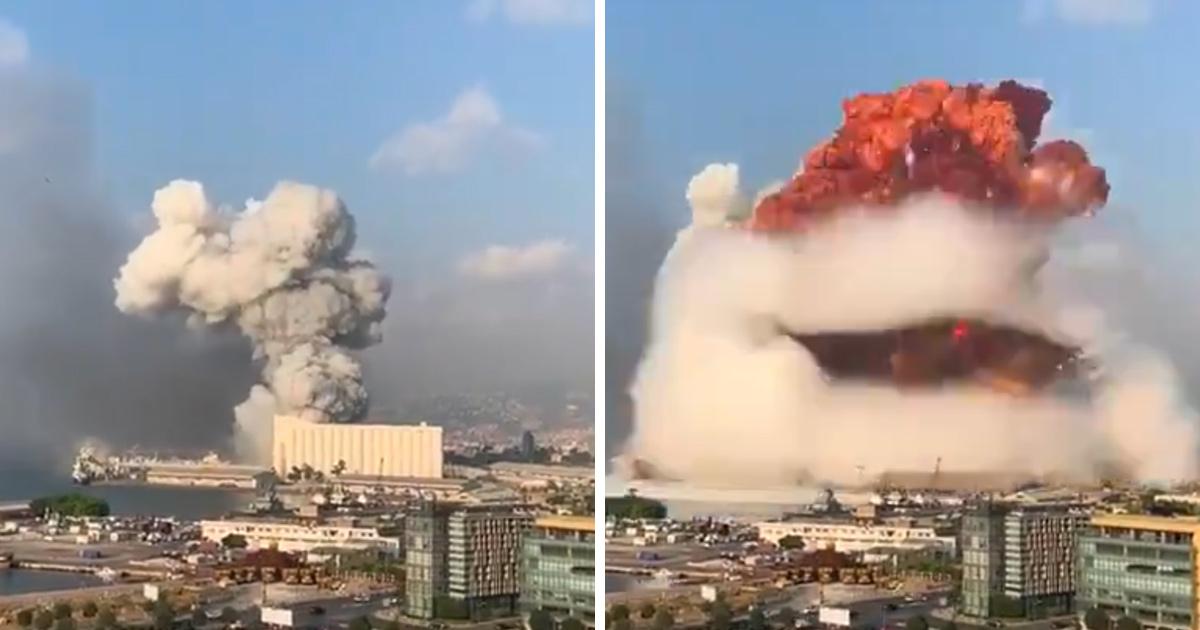 Une énorme explosion secoue Beyrouth après un incendie dans un entrepôt