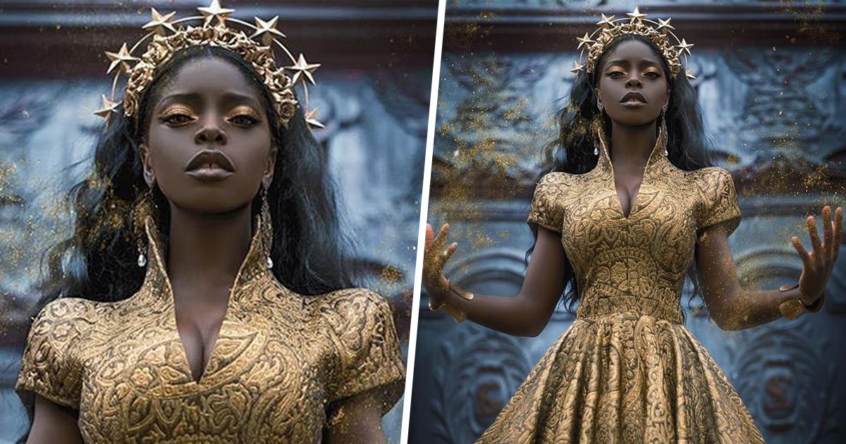 Des gens publient des photos de femmes noires tirées de séances photo fantastiques et les images sont à couper le souffle
