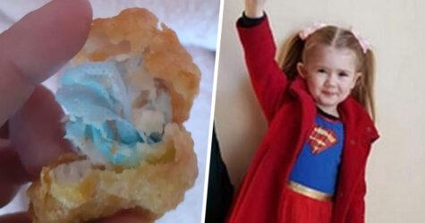 Une fille de 6 ans s'étouffe avec un masque qui a été cuit dans des pépites de poulet de McDonald's selon sa mère