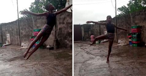 Un garçon de 11 ans du Nigeria reçoit une bourse de l'école de danse de New York après que son spectacle de ballet pieds nus soit devenu viral