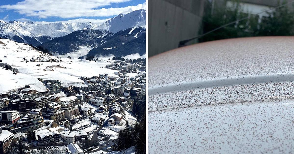 Il a neigé du chocolat sur cette ville suisse après une défaillance de ventilation à l'usine Lindt