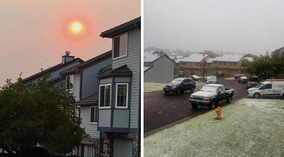 Il a neigé au Colorado 48 heures seulement après une vague de chaleur record et cela prouve que rien n'est impossible en 2020