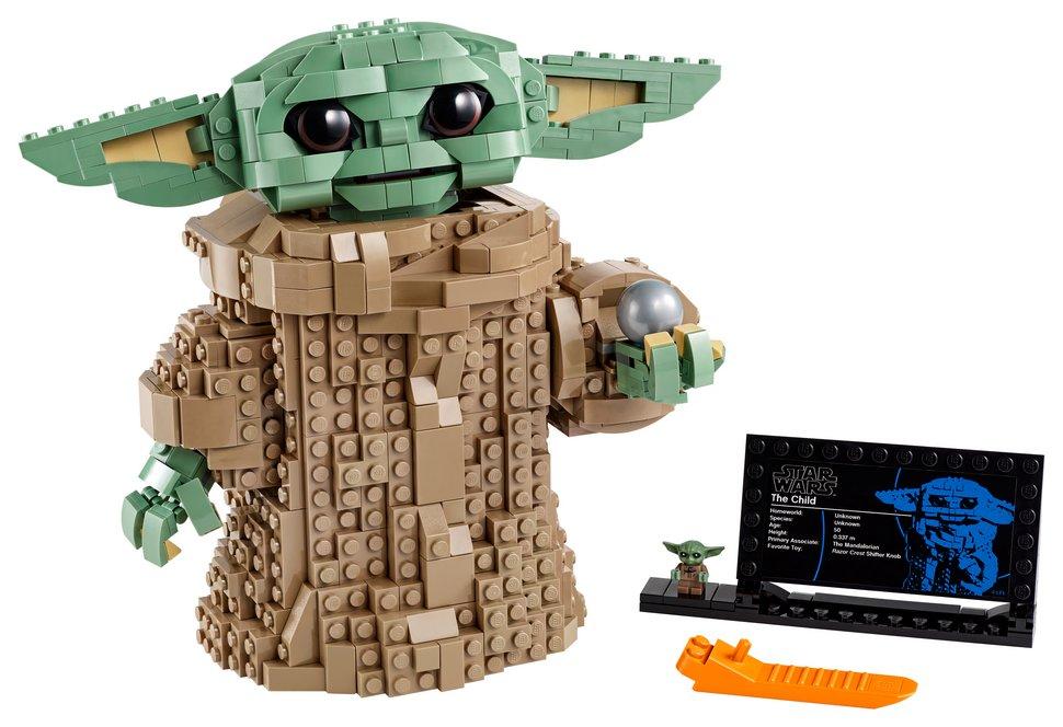 LEGO lance un ensemble Bébé Yoda de 1073 pièces
