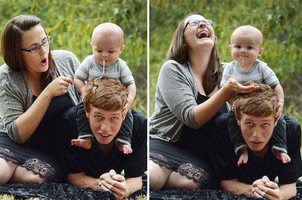 Ces bébés ont ruiné le shooting photo parfait de leurs parents