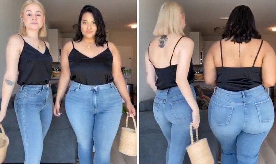Deux amies montrent à quoi ressemble la même tenue sur leurs différents types de corps (nouvelles images)