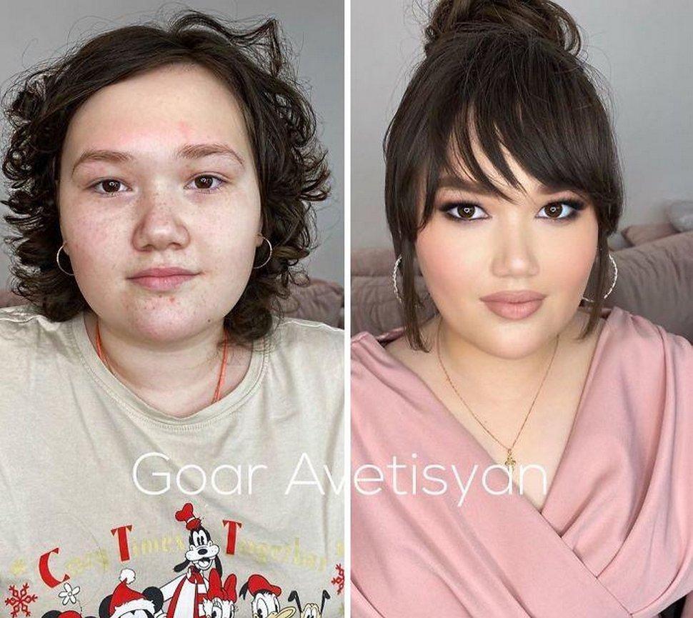 Ces maquillages incroyables par Goar Avetisyan prouvent que «chaque femme est une star d'Hollywood»