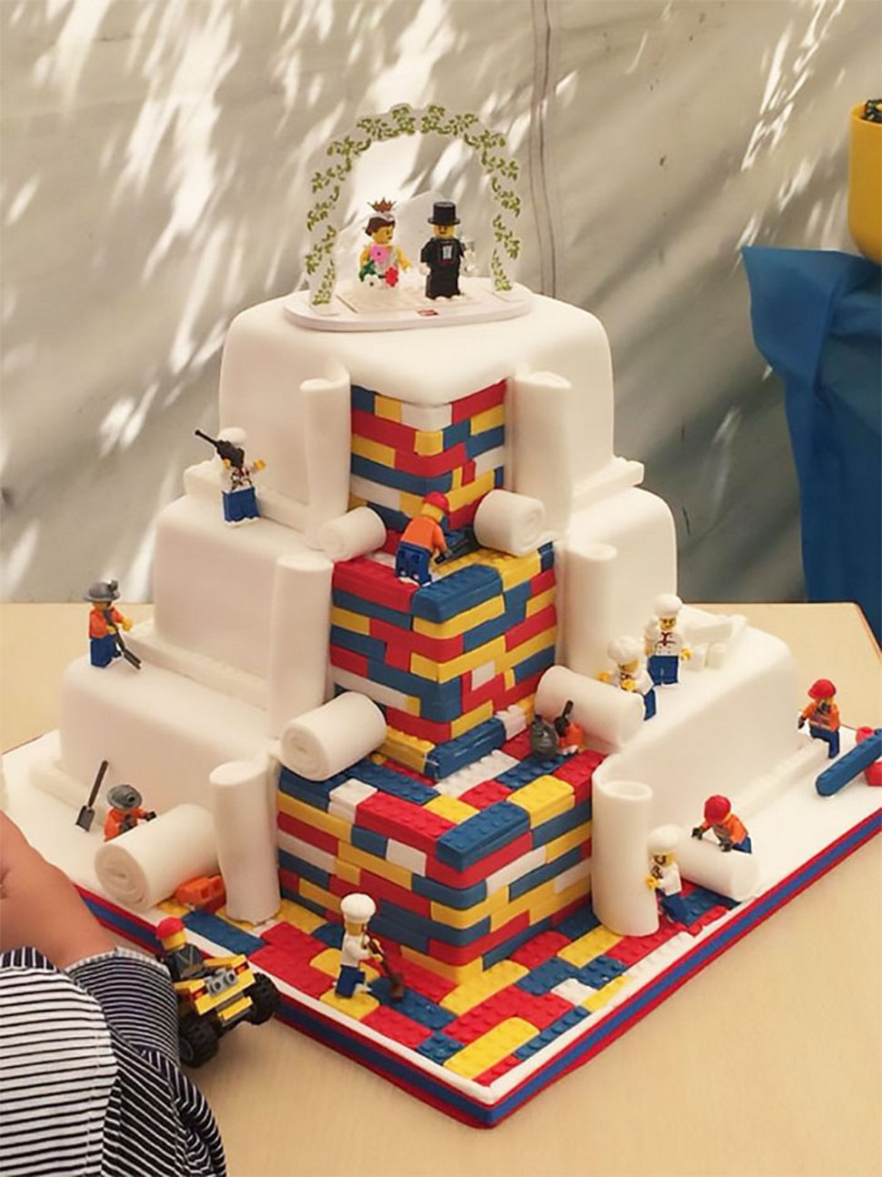 Voici les gâteaux de mariage les plus créatifs de tous les temps