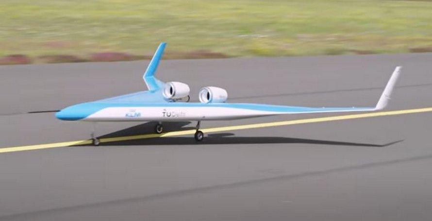 Un nouveau prototype de l'avion Flying-V s'envole pour la toute première fois