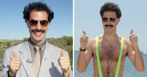 Le tournage de Borat 2 est terminé