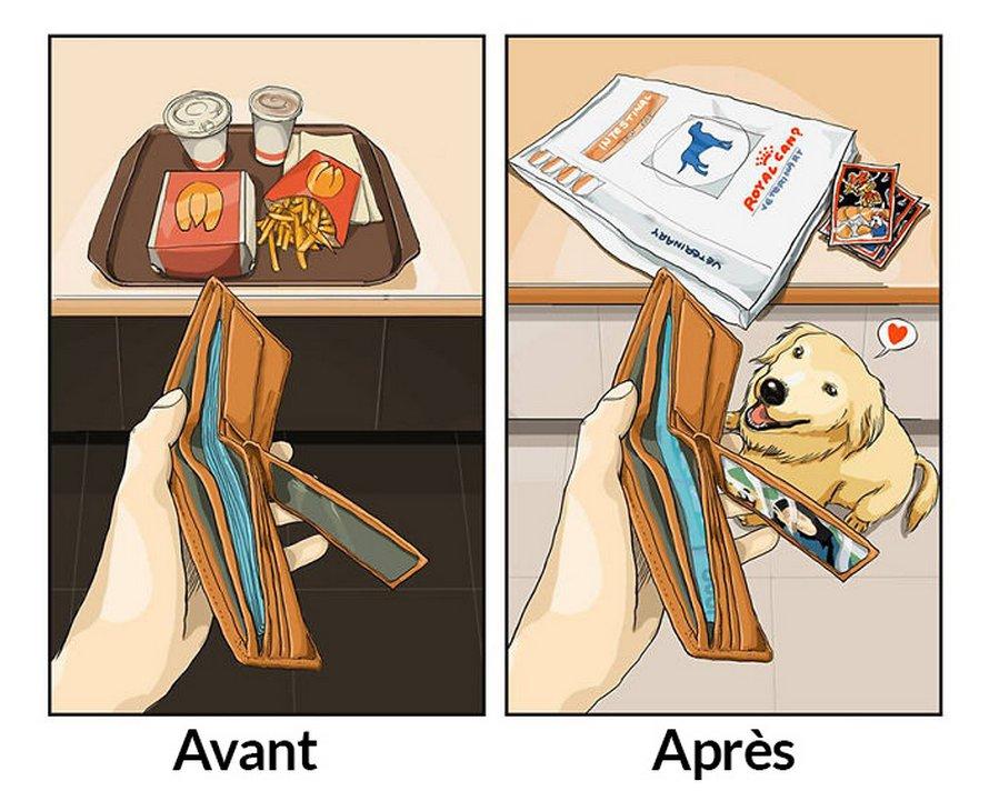 Voici les changements qui se produisent dans votre vie après avoir eu un animal de compagnie