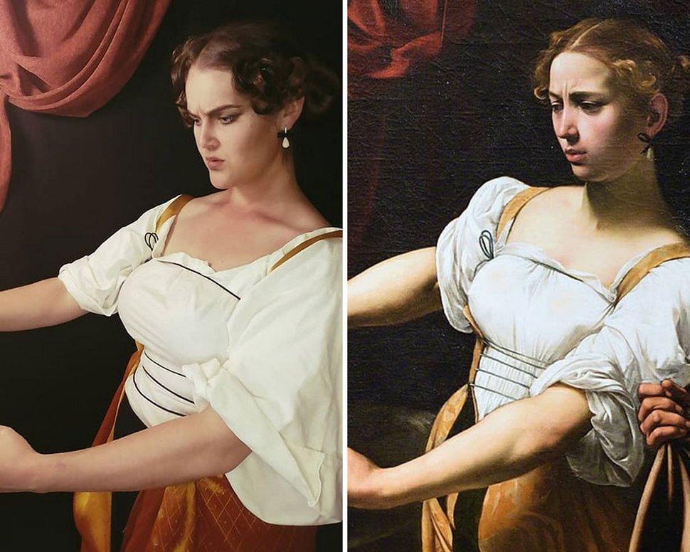 J'ai décidé de recréer une peinture classique célèbre par jour pendant un an et voici mes 22 recréations préférées