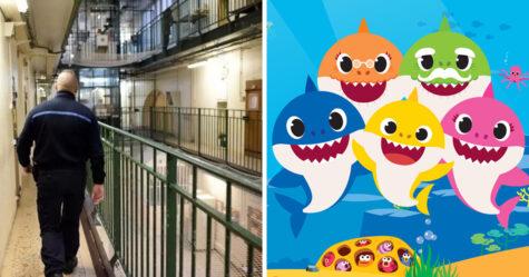 Des gardiens de prison ont été accusés de cruauté après avoir forcé des détenus à écouter Baby Shark en boucle