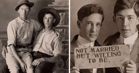 Ces vieilles photos de couples d'hommes montrent ce que les livres d'histoire semblent parfois oublier