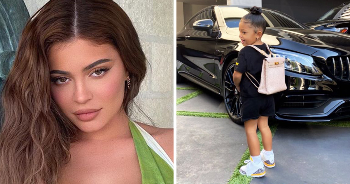 Kylie Jenner offre à sa fille de 2 ans un sac à dos de 12000$ pour son premier jour d'école