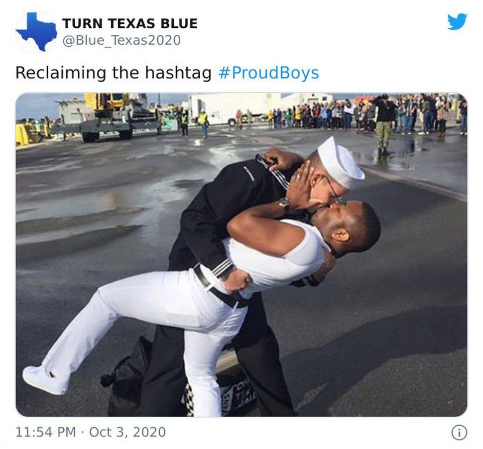 La communauté gay se réapproprie le hashtag #ProudBoys créé par un groupe de suprémacistes blancs