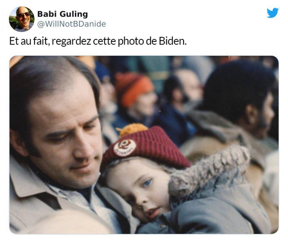 Des trolls ont qualifié de «perverse» une photo de Joe Biden et son fils, alors des gens ont partagé des photos similaires pour leur faire honte
