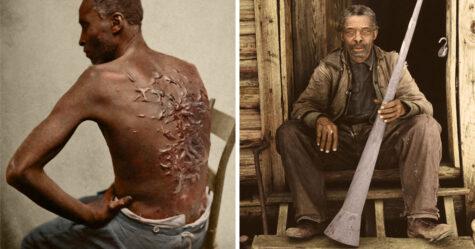 J'ai colorisé 10 photos datant de plus de 160 ans pour montrer les horreurs de la vie des personnes vivant sous esclavage