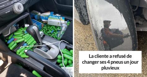 22 fois où des mécaniciens automobiles ont pris des photos des voitures qu'ils réparaient pour que les autres les croient