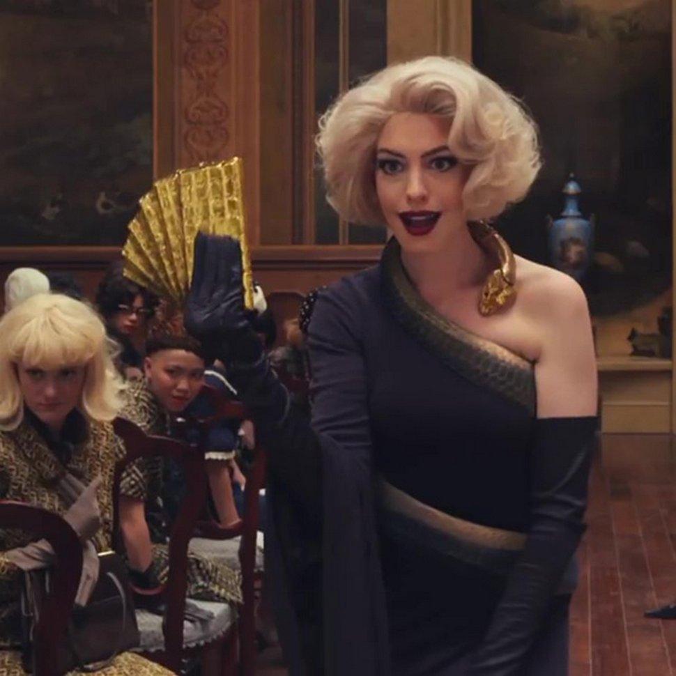 Anne Hathaway dévoile sa transformation flippante pour le remake de Sacrées Sorcières