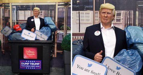 Le musée de cire de Madame Tussauds à Berlin a jeté sa sculpture de Donald Trump à la poubelle
