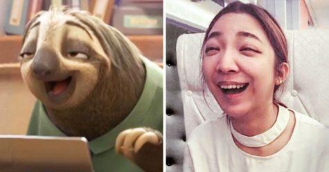 Ces personnes ressemblent exactement à des personnages de dessins animés