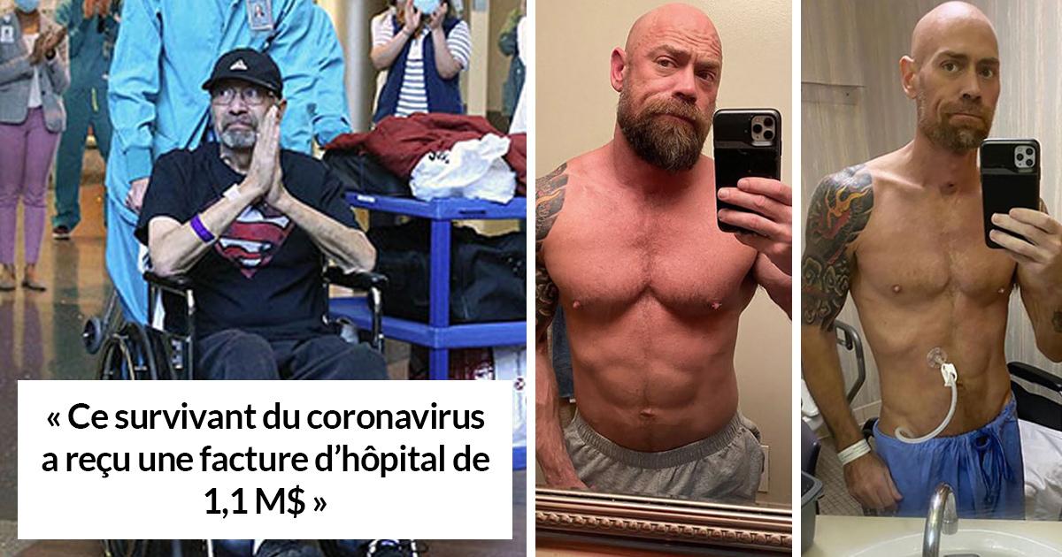 22 photos de survivants du coronavirus pour tous ceux qui croient encore que le Covid-19 n'existe pas