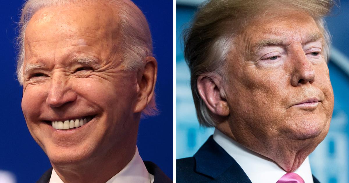 Biden a maintenant une avance de 5 millions de votes populaires sur Trump