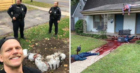 16 fois où des gens sont allés trop loin avec leurs décorations d'Halloween et ont dû fournir des explications à la police