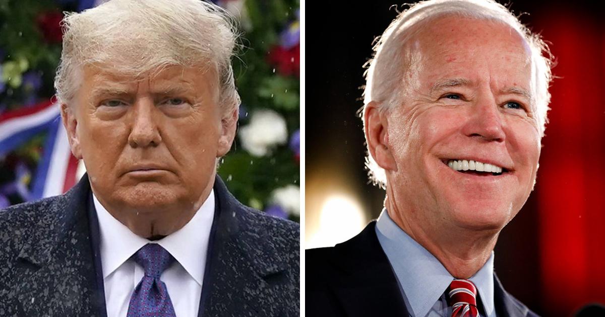 Donald Trump vient d'admettre que Joe Biden a gagné l'élection