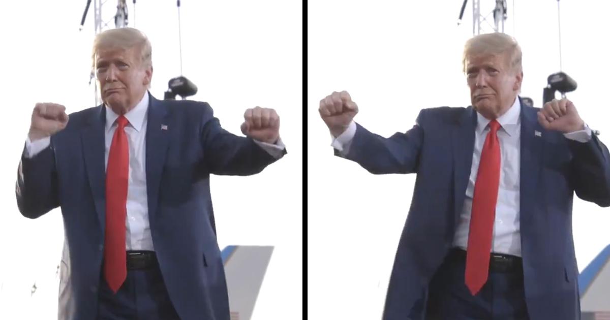 Donald Trump partage une vidéo de lui-même dansant sur YMCA le jour de l'élection