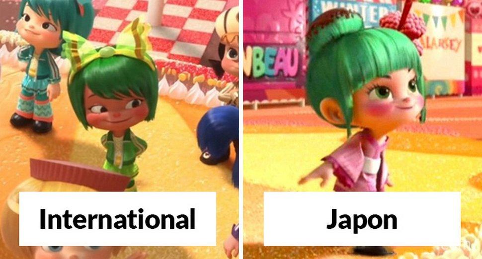 15 fois où Pixar et Disney ont changé de petits détails dans leurs films pour des projections dans différents pays