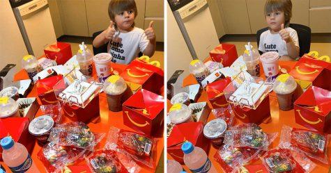 Un jeune garçon emprunte le téléphone de sa mère et commande pour 100$ de McDonald's