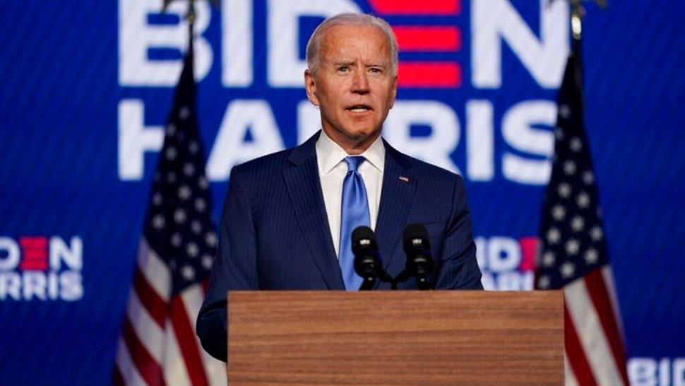 Biden dit qu'il sera un président pour tous les Américains et pas seulement pour ceux qui ont voté pour lui