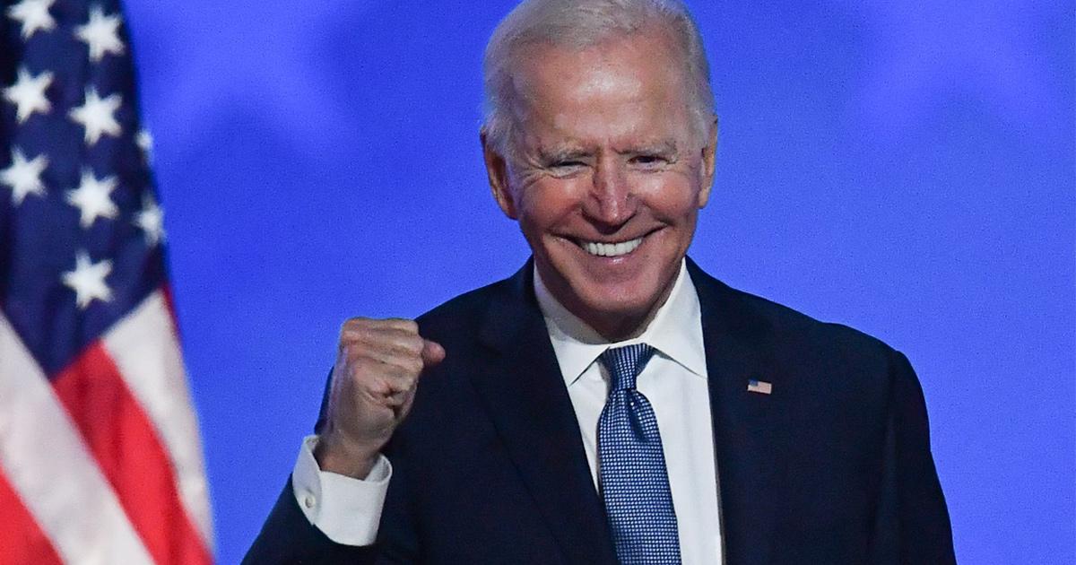 Joe Biden est le Président élu des États-Unis